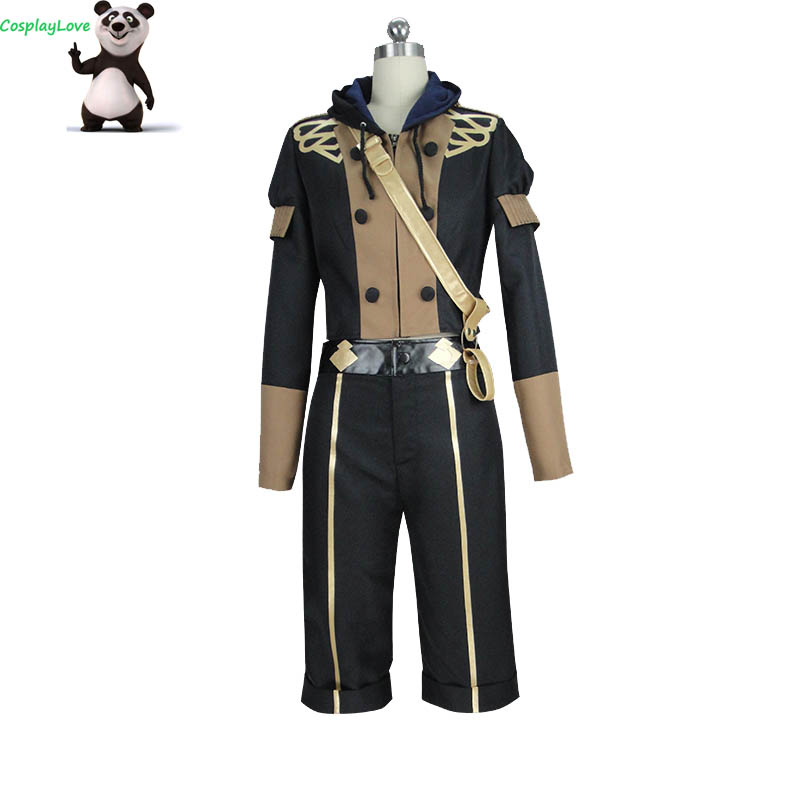 CosplayLove Fire Emblem: Three Houses Ashe Cosplay Costume Custom Made Women For Christmas Halloween With Shoes Cover