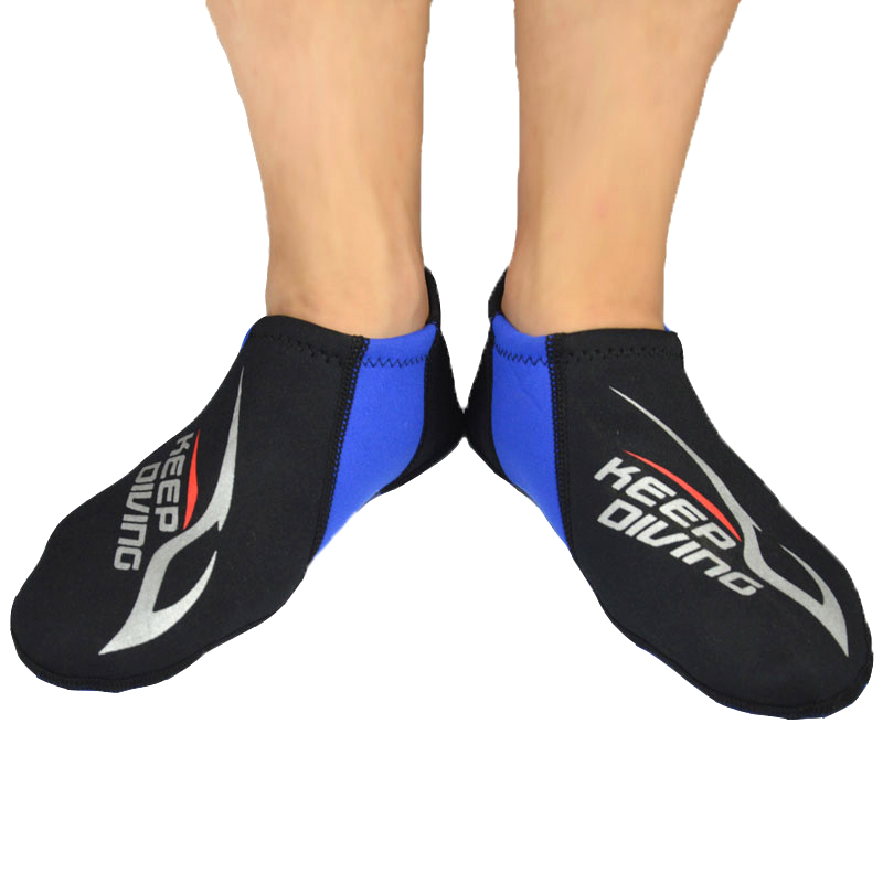 1Pair Swimming Surfing Socks Breathable Anti-sand Snorkeling Boots For Water Sports FOU99