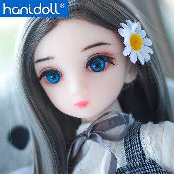 Hanidoll 65cm Cute Silicone Sex Doll Japanese Love Doll Metal Skeleton Full Sized Realistic Vagina Masturbator Sex doll