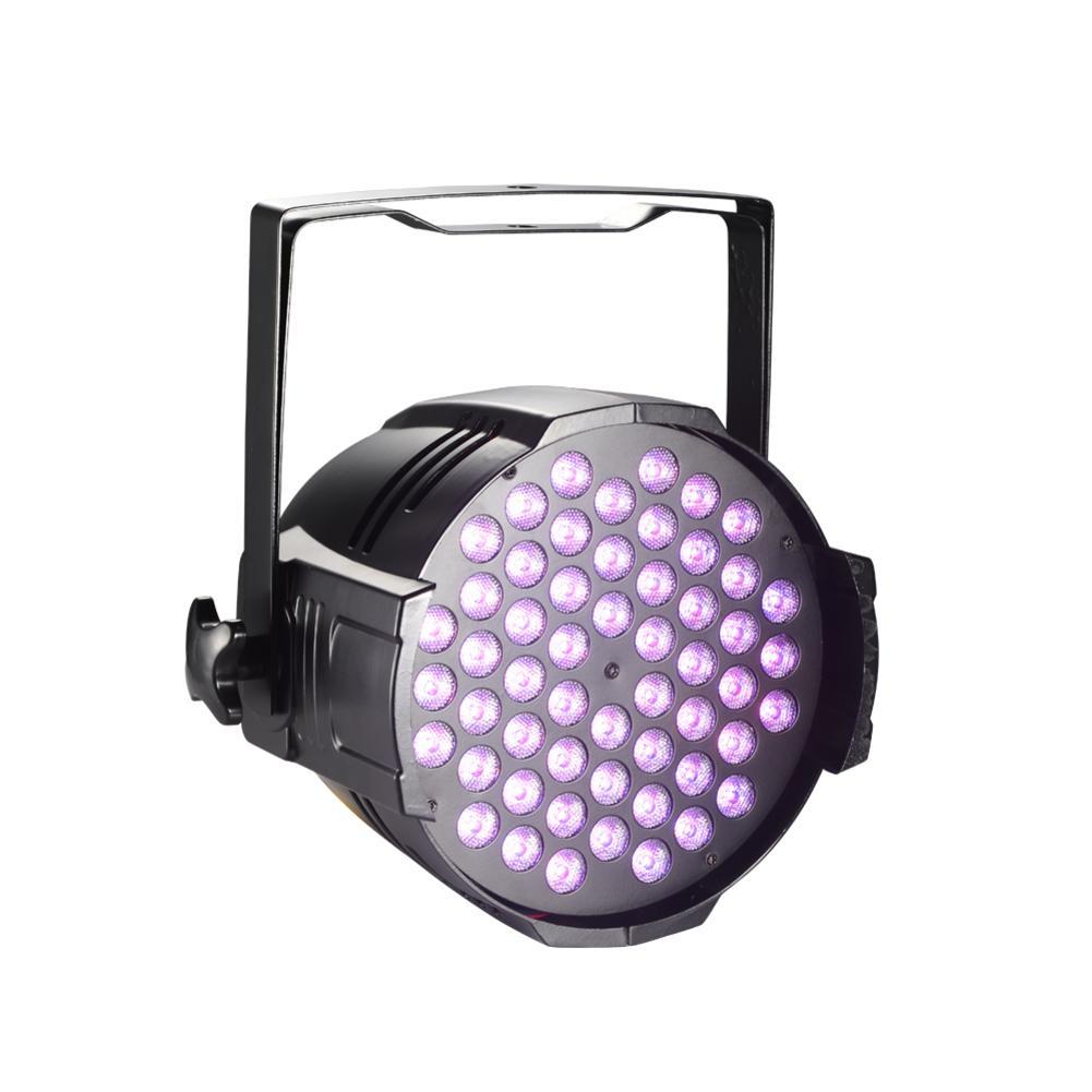 80/100/120/140/160/180W LED Par Lights DJ LED RGBW Par Lights RGB Wash Disco Light DMX Controller Effect For KTV Stage Lighting