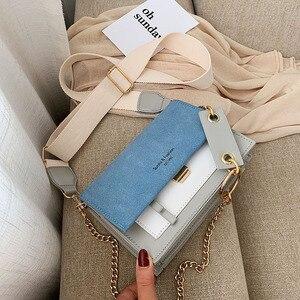 Image 3 - 2019 新ミニハンドバッグ女性ファッションイン超火災レトロワイドショルダーストラップメッセンジャーバッグ財布シンプルなスタイルのクロスボディバッグ