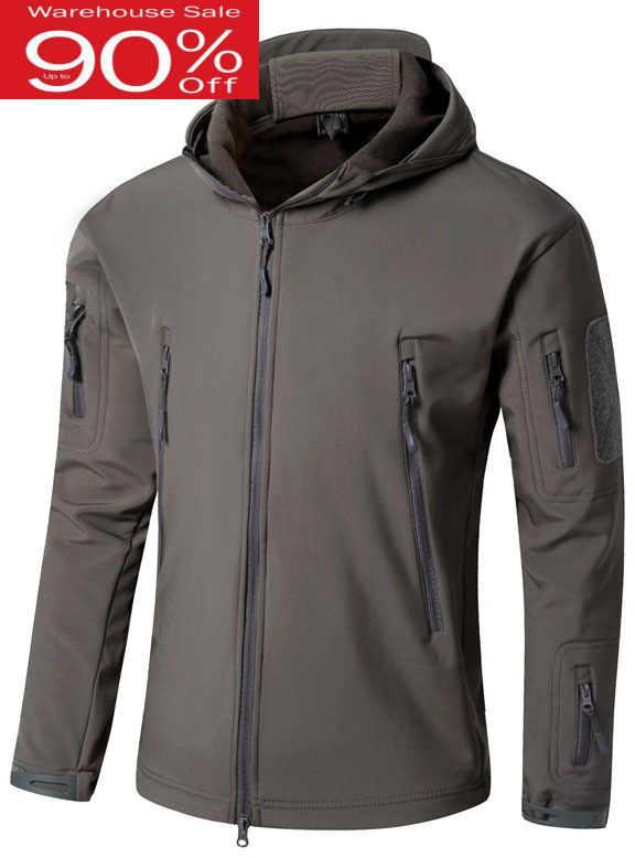 Drop Shipping kamuflaż wojskowy mężczyźni płaszcz wojskowa kurtka taktyczna 2020 zima wodoodporna Shell camo kurtki polowanie odzież