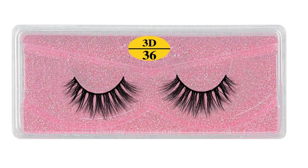 H2c77096c4ed34eb8b032846ec3492947D - MB Eyelashes Wholesale 40/50/100/200pcs 6D Mink Lashes Natural False Eyelashes Long Set faux cils Bulk Makeup wholesale lashes
