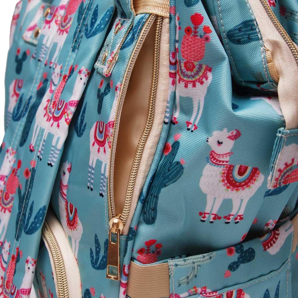 Llama Diaper Backpack