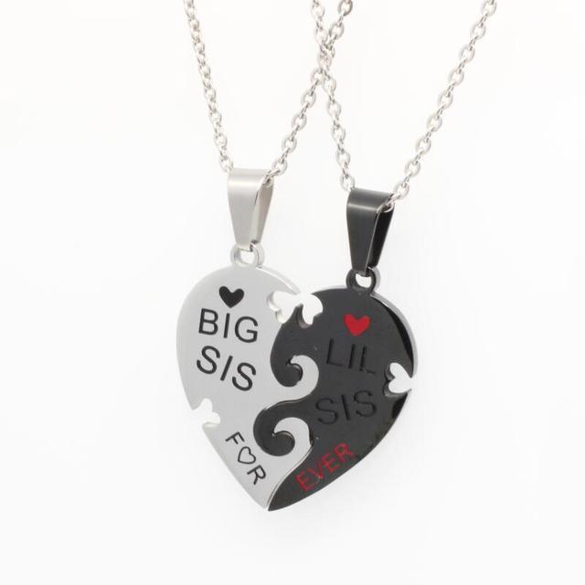 Фото ожерелье женское с подвеской в виде сердца
