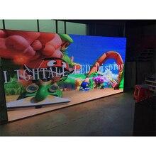 P6 Outdoor modul 192*192mm SMD3535 32*32 punkte 1/8S Wasserdichte led bildschirm panel für werbung LED display