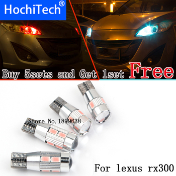 1pc safe No error T10 light 194 W5W high brightness LED Canbus For lexus rx300 rx330 rx350 is200 is250 gs300 lx570 lx470 gx47 image
