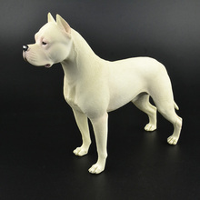 Model Figures Argentino Collectible Animals-Guard Farm Pets Kids Toy Gift 22cm Dogo Big