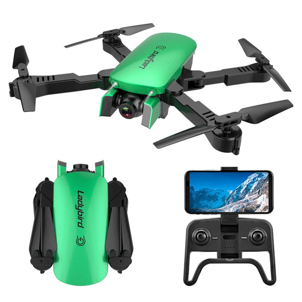Kids HD Long Flight Toys Easy Operate Dual Cameras Remote Control Quadcopter Wide Angle Foldable Aerial Photography R8