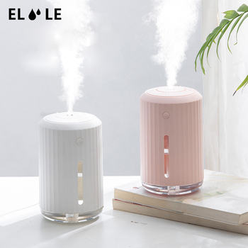 ELOOLE Ultrasonic Air Humidifier Aromatherapy USB Aroma Essential Oil Diffuser For Home Office Mist Maker LED Night Light