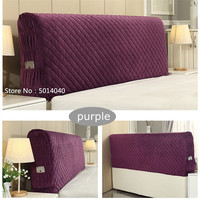 Nordic Style Bedspread All Including Elastic Powder Duplex Quilt Protective bed Cover Headboard cover Dust cover
