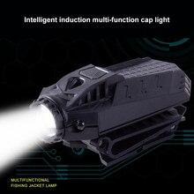 Super Bright Frontal LED Cap Light Headlight  Characteristics Flashlight Hat Light Clip Head Lamp Lantern For Fishing Jogging