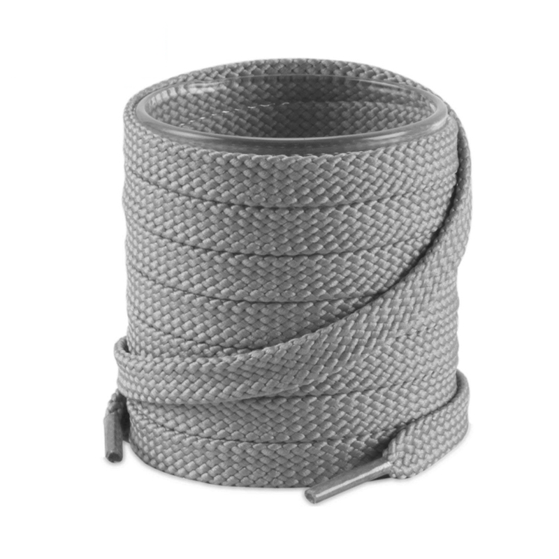 1Pair Double Flat Laces High Quality Polyester Shoelaces Fashion Sports Casual Shoe Lace Solid Flat Shoelace 26Colors