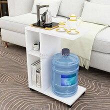 30% 2B Современная гостиная диван угловой журнальный столик имитация дерева боковые шкафы прикроватный журнальный столик