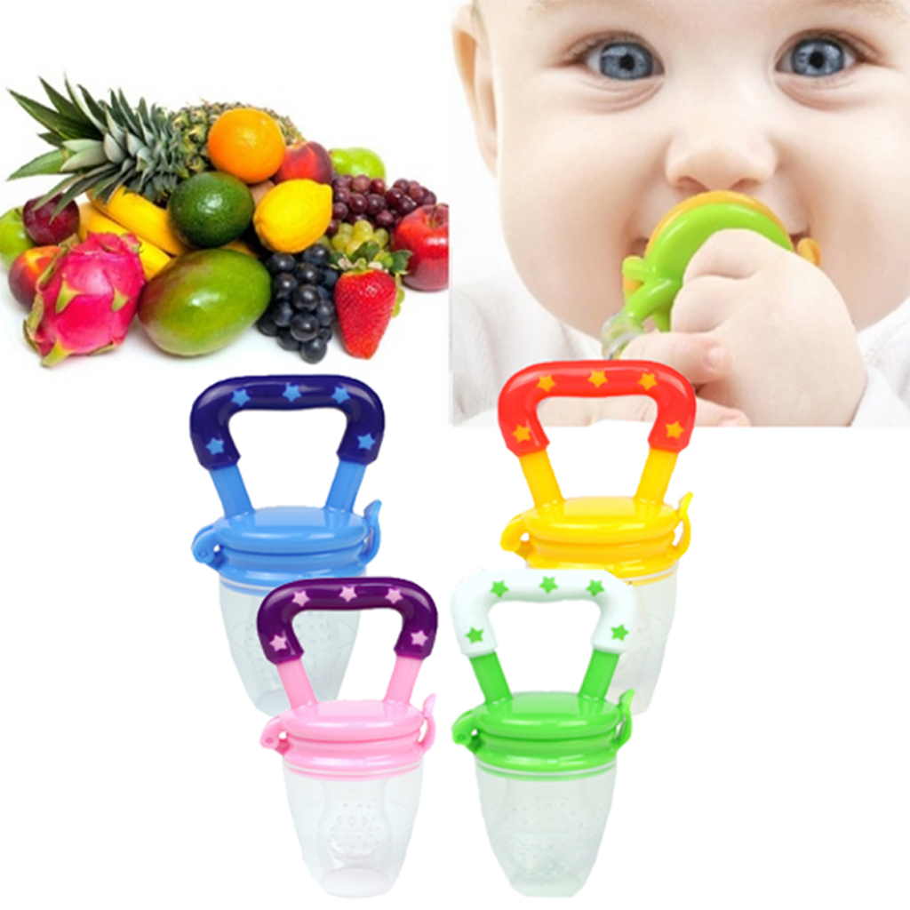 ARLONEET New Baby Pacifier Safety Silicone Toddlers Teether Vegetable Fruit Teething Toy Ring Chewable Soother Eat Fruit 2020Jan