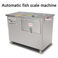 XZ-610 tipo automático remover escama de peixe máquina de aplainamento raspador de aço inoxidável comercial máquina de raspagem escala Elétrica 220V