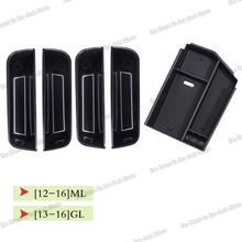 Lsrtw2017 Abs Car Interior Door Armrest Plate Storage Box Trims for Mercedes Benz Ml Gl Gl320 ML350 400GL450 W166 X166 2012-2016