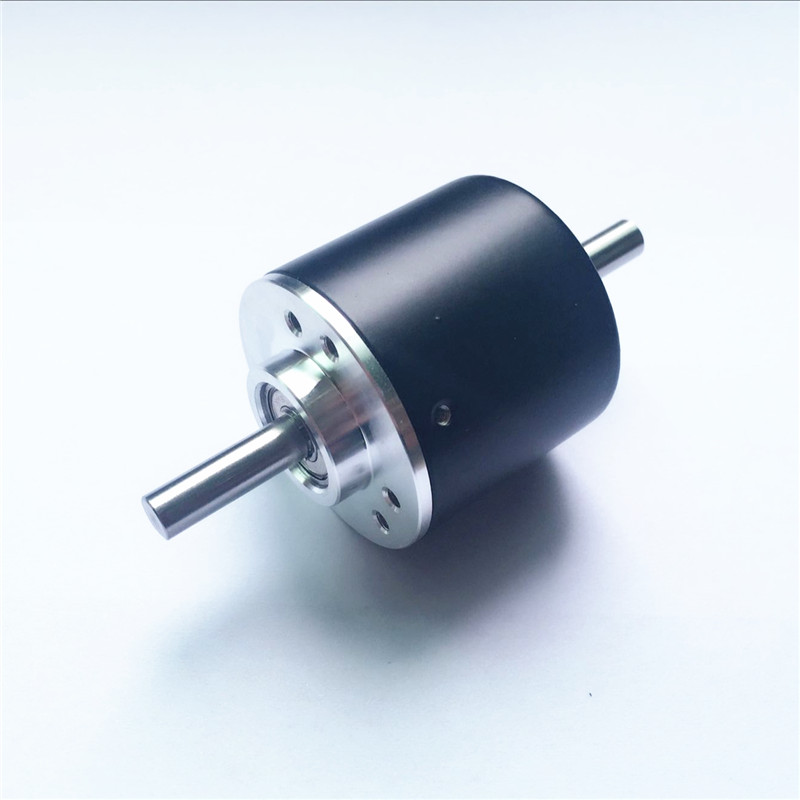 Outer Diameter 38 Axis 6mm Double Output Shaft Rotary Encoder