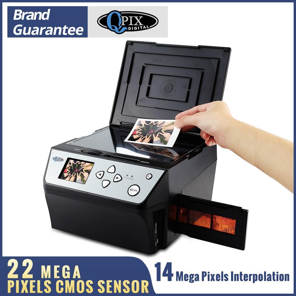 22 MEGA พิกเซล 4 in 1 COMBO ภาพดิจิตอลสแกนเนอร์ 135 ลบ Converter Photo เครื่องสแกนฟิล์ม 35 มม. business Card Scanner