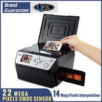 22 Mega píxeles 4 en 1 COMBO foto y escáner de película Digital 135 convertidor negativo foto 35 mm escáner de película tarjeta de visita escáner