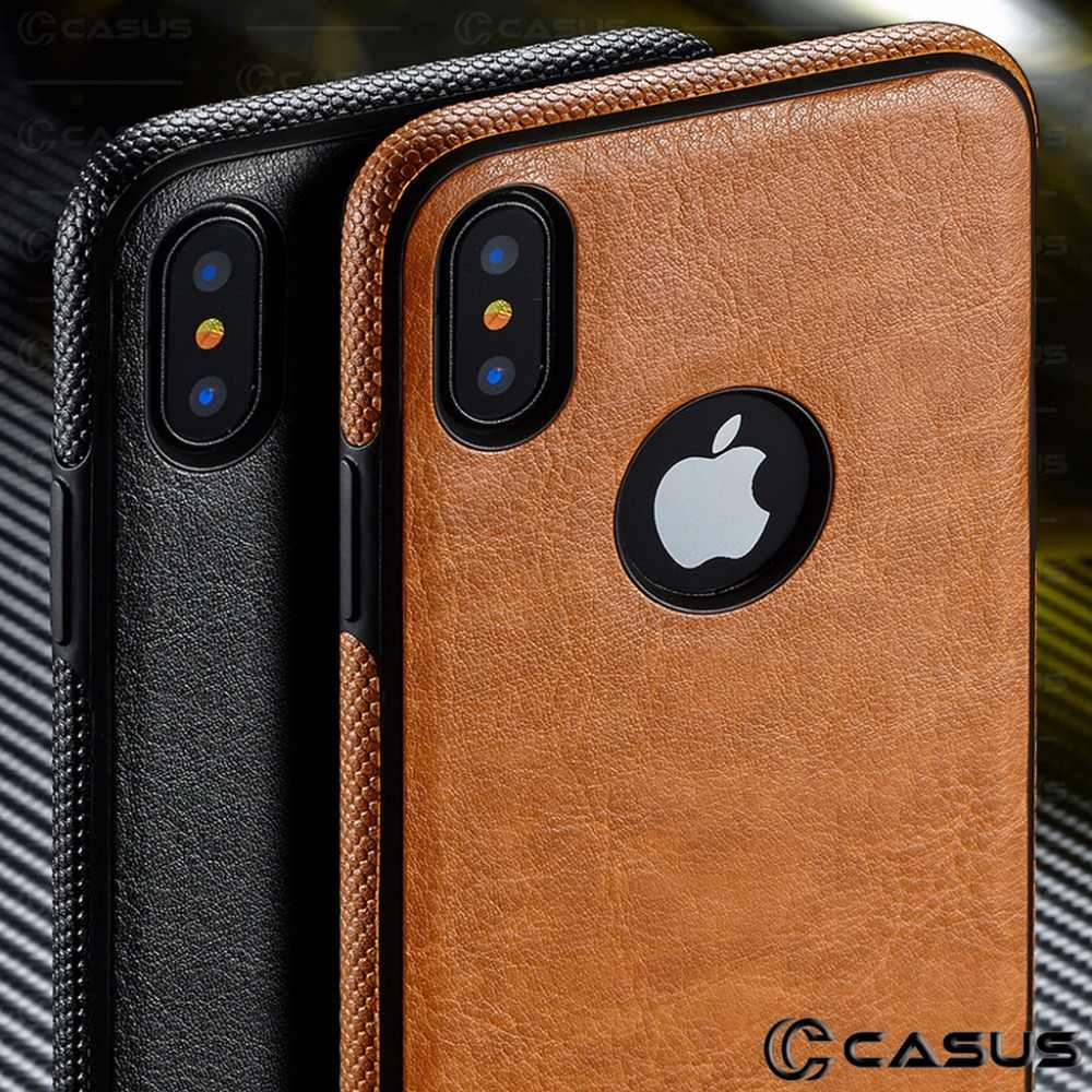 Pu Leather Case Voor Iphone 11/11 Pro/11Pro Max/X 6 6 S 7 8 Plus Slim Luxe terug Ultra Dunne Cover Voor Iphone Xs Max Xr Case