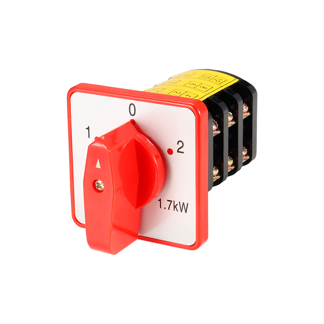 Changeover Switch Rotary Selector 2 Position Cam Switch 8 Terminals Latching
