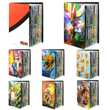 240PCS Pokemon Cards Album Book Cartoon Anime Game Card EX GX Collectors Loaded List Binder Folder Holder Capacity Toys For Kids