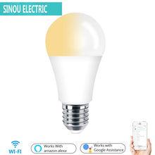E27 WiFi Smart Licht Birne LED Lampe C + W 1/2/3/4 PCS 7 W weiß Tageslicht Tuya App Fernbedienung Arbeitet mit Alexa Echo Google