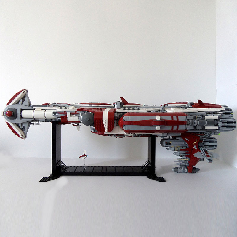 05079 Star Toys Wars The MOC Zenith Old Republic Escort Cruiser Model Compatible With Legoing Building Blocks Kid Christmas Gift 7