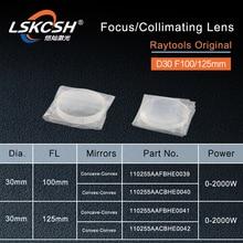 RayTools מקורי Collimating עדשת פוקוס עדשת D30 F100 125mm עבור raytools סיבי לייזר חיתוך ראש BT240S BM111 BT240 Bodor