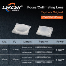 RayTools Originele collimatorlens Focus Lens D30 F100 125mm voor raytools fiber laser snijkop BT240S BM111 BT240 Bodor