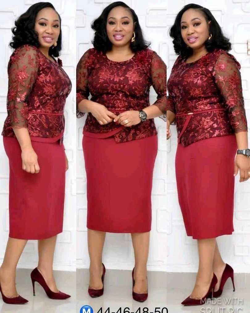 Nuevo estilo africano Mujer ropa Dashiki moda bordado ahuecado vestido de encaje talla L XL XXL XXXL