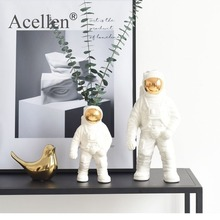 Ceramic Vase Sculpture Porcelain Figurines Nordic-Astronaut Modern Tabletop Home-Decoration-Accessories