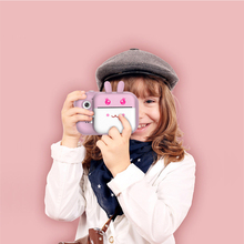 Video 1080P HD Photo Printer LCD Display Portable Gift Fill Light With Memory Ca