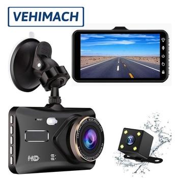 2018 auto dash cam car dvr 4g wifi dash camera android gps registrator dual lens full hd 1080p dash cam mini loop recording Dash Cam DVR Camera Mini Dual Lens 1080P HD Dashcam Waterproof Car DVR Front And Rear View Video Recorder Auto Registrator Park