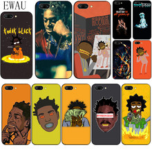 EWAU Kodak Black Rapper Silicone phone case for Huawei Honor 6A 7A Pro 7C 7X 8X 8C 8 9 Note 10 Lite view 20 9X Pro(China)