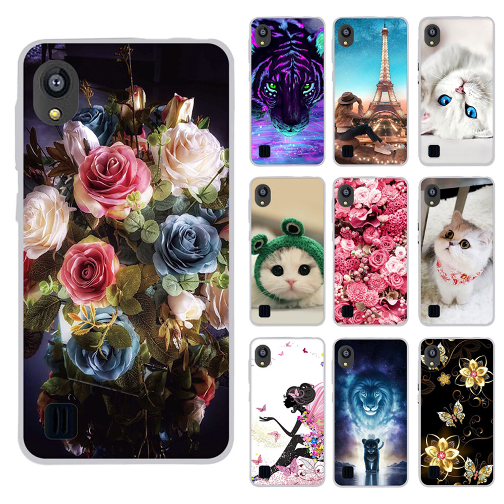 3D Print Cartoon Case For ZTE Blade L8 Slim Silicone Cover For ZTE Blade A3 A5 A7 2019 Phone Back Bumper Protection Case