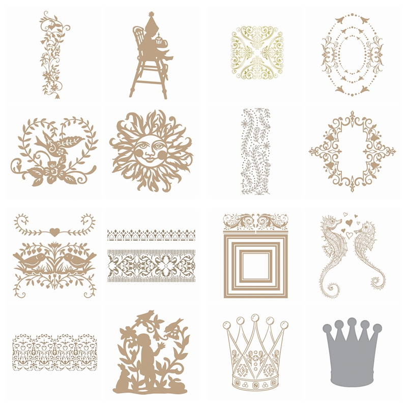 Butterfly Flower Word Hot Foil Plate Metal Cutting Dies Stencils For DIY Scrapbo