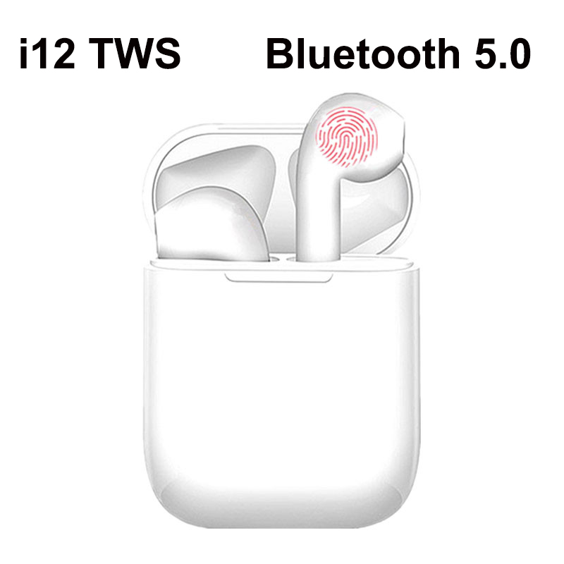 <font><b>i12</b></font> i11 i9S <font><b>TWS</b></font> <font><b>Bluetooth</b></font> <font><b>5.0</b></font> Earphones <font><b>TWS</b></font> Wireless Headphones <font><b>Bluetooth</b></font> Earphone Handsfree Sports <font><b>Earbuds</b></font> Gaming Headset Phone image