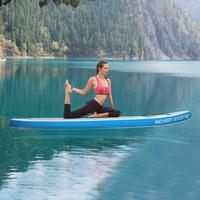 305*76*15cm inflatable surfboard paddle board wakeboard stand up paddle board surfing water sport sup board ISUP surf board