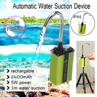 Portable Fishing Suction Device Charge Automatic Pump Intake Hand Washers Water Absorber Machine Outdoor Fishing Equipment Tool