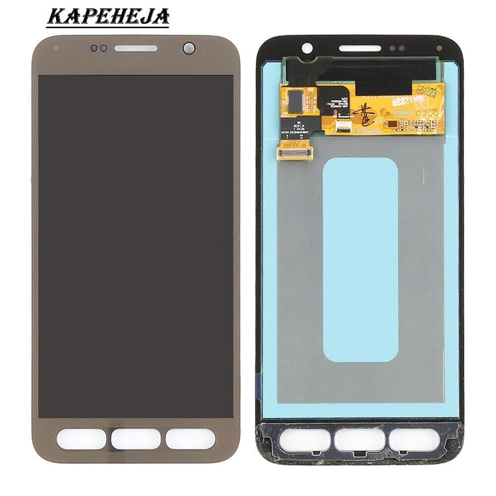 """5.1""""супер AMOLED ЖК-дисплей для Samsung Галактика S7 активный G891 см-G891A ЖК-дисплей с сенсорным экраном дигитайзер Ассамблеи"""