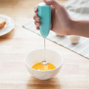 Milk Drink Coffee Whisk Mixer Electric Egg Beater Frother Foamer Mini Handle Stirrer Practical Kitchen Cooking Tool