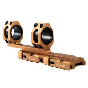 Image 3 - 25.4 30mm 퀵 릴리스 듀얼 링 스코프 마운트 전술 캔틸레버 빠른 분리 라이플 Picatinny Rail Airsoft Hunting Accessories