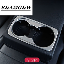 Interior Rear Water glass holder frame cover trim For Mercedes Benz ML320 350 GLE W166 coupe c292 350d GL450 x166 GLS amg