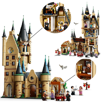 2020 New Magic Castle Potter brand series Harried movie figures children's educational building block toys for children image