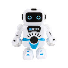 ABHU-Electric Robot Toys Electronic Dancing Robot With Musical & Lighting Robot Fun Learning Toys - Best Educational Gifts For B(China)