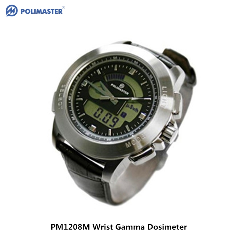 Genuine Belarus PM1208M Professional Personal Nuclear Radiation Detector Waterproof Wrist Gamma Ray Geiger Radiation Dosimeter
