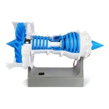Zabawki naukowe silnik Turbofan Model samolotu Model samolotu silnik Model elektryczny druk 3D samolot pasażerski silnik lotniczy