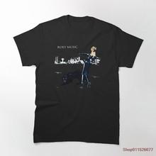 Roxy-Camiseta con adhesivo para camisas y póster para hombre, camisa de manga corta con cuello redondo, 100% de algodón, regalo